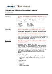 FAQ Preisekommunikation_Stand_19_04_2013-1 - Arosa ...