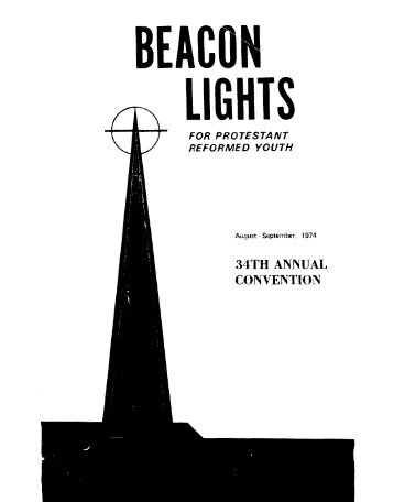 34TH ANNUAL CONVENTION - Beacon Lights