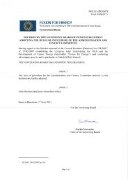 rules of procedure for the Administration and Finance Committee