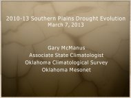 The Quality Assurance and Dissemination of ... - US Drought Portal