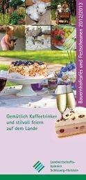 Festscheunen - Landwirtschaftskammer Schleswig-Holstein