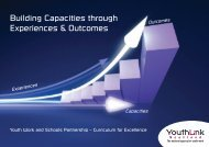 Building Capacities through Experiences & Outcomes - Scottish ...