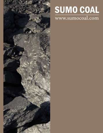 Sumo Coal - The International Resource Journal