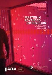 barcelona 2013-2014 - Institute for Advanced Architecture of Catalonia