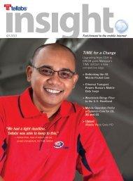 Tellabs Insight Magazine - 3rd Quarter, 2010