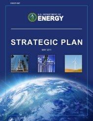 DOE 2011 Strategic Plan - U.S. Department of Energy