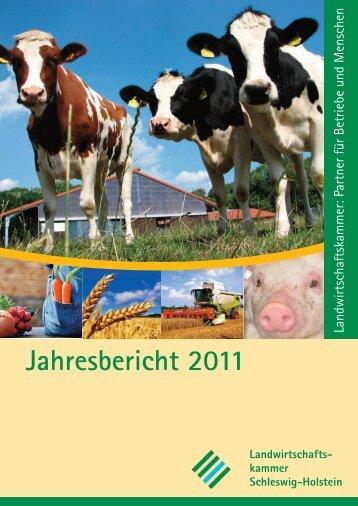 Jahresbericht 2011 - Landwirtschaftskammer Schleswig-Holstein