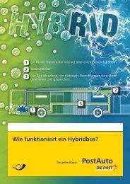 Wie funktioniert ein Hybridbus? - Postauto