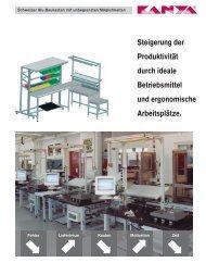 Steigerung der Produktivität durch ideale Betriebsmittel ... - Kanya AG