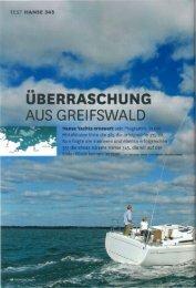 UBERRASCHUNG - Hanse Yachts