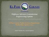 Phase 2 - El Paso County