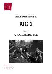 deelnemersbundel KIC 2 voor nationalen 09-10 - Chiro - Chirojeugd ...