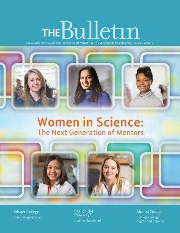 Women in Science: - University of the Sciences in Philadelphia
