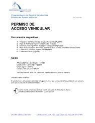 PERMISO DE ACCESO VEHICULAR - Pontificia Universidad ...