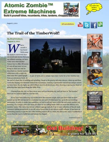 The Trail Of The TimberWolf!