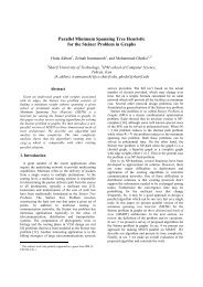 Parallel Minimum Spanning Tree Heuristic for the Steiner Problem in ...