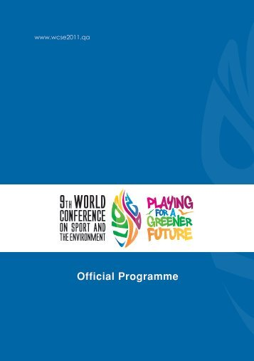 Official Programme - WCSE | The 9th World Conference on Sport ...