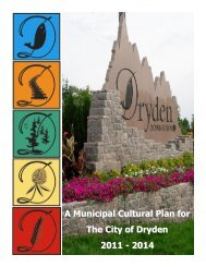 Municipal Cultural Plan Final.pdf - City of Dryden