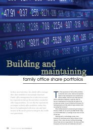 Building and maintaining - Conscious Investing