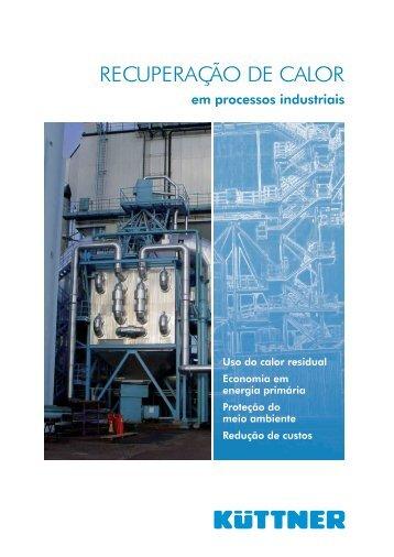 Recuperação de calor em processos industriais - Kuttner