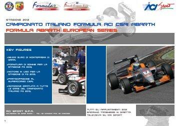 pres. campionato Abarth - ACI Sport Italia
