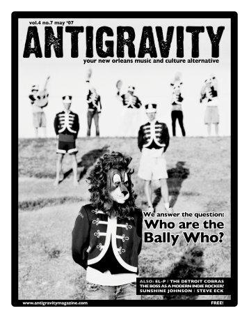 May 2007 (PDF) - Antigravity Magazine