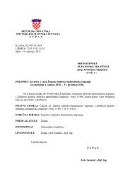 IZVJEŠĆE O RADU - Splitsko-dalmatinska županija