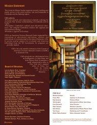 2010-2011 - Center for Khmer Studies