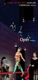 Oper FrankFurt Januar FeBruar 2014