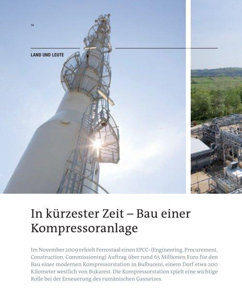 In kürzester zeit – Bau einer Kompressoranlage - Ferrostaal