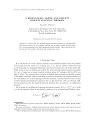 a ridiculously simple and explicit implicit function theorem