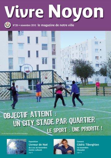 VN novembre 2010 impression:Maquette recherche - Ville de Noyon