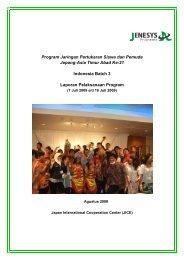 Program Jaringan Pertukaran Siswa dan Pemuda Jepang-Asia ...