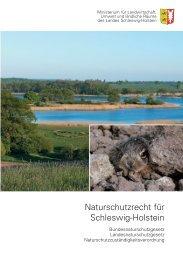 Naturschutzrecht für Schleswig-Holstein - Landwirtschaftskammer ...