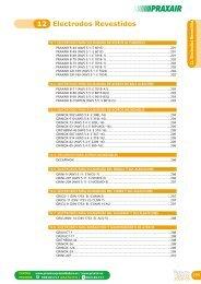 Electrodos Revestidos 12 - Metalia