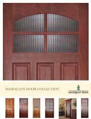MAHOGANY DOOR COLLECTION