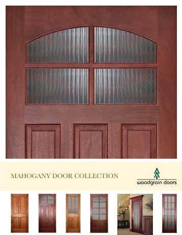 MAHOGANY DOOR COLLECTION