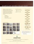 MAHOGANY DOOR COLLECTION - Page 4