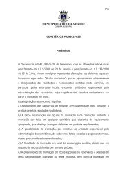 Regulamento dos Cemitérios Municipais - Freguesia de S. Julião da ...
