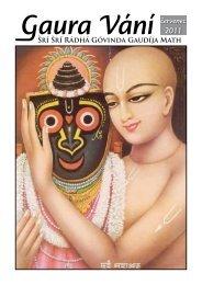 červenec - Sri Sri Radha Govinda Mandir