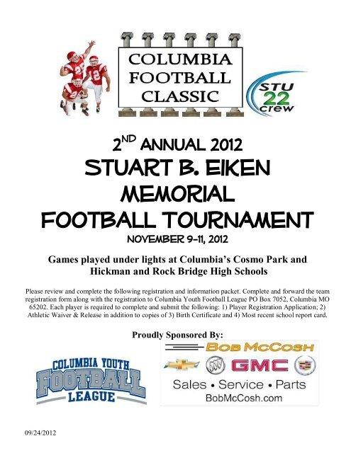 Stuart B  Eiken Memorial Football Tournament - (everysport