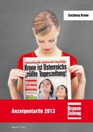PDF-Download Tarife Salzburg Krone - Kroneanzeigen.at