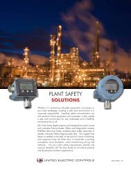 Plant Safety Overview - United Electric Controls