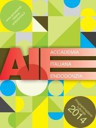 programmazione culturale 2014 - Accademia Italiana Endodonzia
