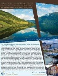 croisière en islande et en norvège - Agence voyage Louise Drouin