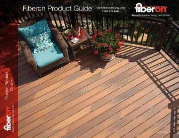 2013 Fiberon Product Guide - Biewer Lumber