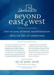 25–27 June, 2009 - FES Budapest