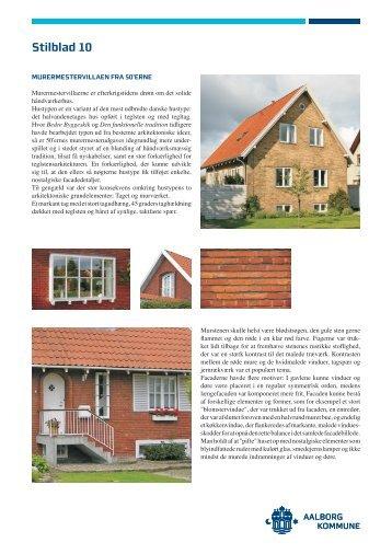 10. Murermestervillaen fra 50'erne - Aalborg Kommune