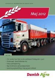 02.05.2012: Læs nyhedsbrevet for maj måned. Chr ... - Danish Agro