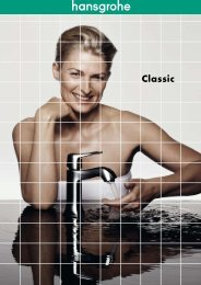 World of Styles Classic catálogo - Hansgrohe